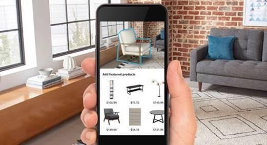 aperçu application Room Decorator par Amazon